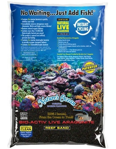 Black Beach Live Sand